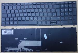 Tastatur hp Probook 450 G5 455 G5 470 G5 Deutsch Keyboard schwarze Rahmen