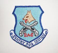 Sentry Dog Strategic Air Command SAC Vietnam Era Patch US Air Force C0731