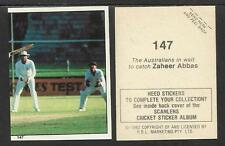 AUSTRALIA 1982 SCANLENS CRICKET STICKERS SERIES I - AUSSIES LOOK FOR CATCH # 147