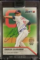 2018 Topps Archives Signature Series CARLOS CARRASCO Autograph 25/50