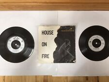 """Boomtown Rats 2x 7"""" Singles - I Don't Like Mondays & House on Fire VGC Geldof"""