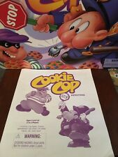 COOKIE COP Game REPLACEMENT PARTS Pieces 1997 Milton Bradley Instructions