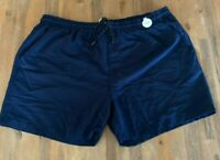 Mens size XXL NAVY Swim shorts boardies elastic waist board shorts RIVERS NEW