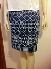 ANN TAYLOR SKIRT Women's Size 8 Polished Cotton Holiday, Career