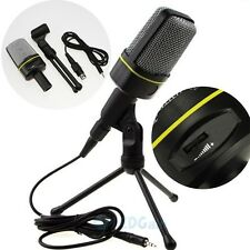 New Professional Podcast Studio Microphone w/ Stand Skype Webcast Youtube Video