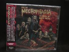 NECROPHAGIA Here Lies 35 Years Of Death Metal JAPAN CD Killjoy The Ravenous