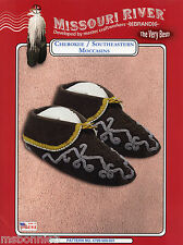 Missouri River Cherokee / Southeastern American Indian Moccasins Sewing Pattern