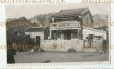 OLD HONGKONG PHOTO CHINESE DWELLING TAI PO ? HONG KONG TERRITORIES VINTAGE 1920S