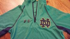 Under armour Notre-Dame Fighting Irish active wear shirt (youth XS)