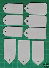 #  Chipboard Sizzix 3 Tag Combo Set