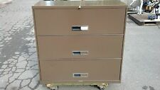 """FILE CABINET 3 DRAWER LATERAL 42""""w Brown McDowell & Craig  We Deliver Locally CA"""