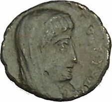 CONSTANTINE I the GREAT Cult  Heaven Horse Chariot Ancient Roman Coin i40248