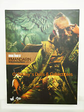 IRON MAN 3 THE MANDARIN Ben Kingsley HOT TOYS 1:6 Scale Figure_902077_NRFB