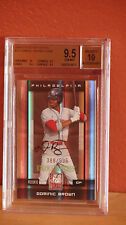 2008 Elite Extra Edition Dominic Brown Autograph Card BGS 9.5 Auto 10