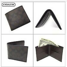 Coach Men's F75083 Double Billfold Wallet MA/BR Signature NWT $150