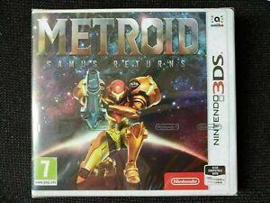 Metroid Samus Returns Nintendo 3DS Game New Sealed, Console Mario Joypad 2DS XL