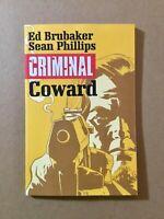 Criminal Vol. 1 : Coward by Ed Brubaker Image 2015 TPB Graphic Novel