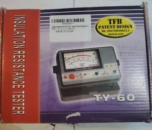 Meggar Megohmmeter TY-6045  Installation Resistance Tester(New)