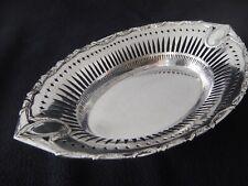 Jugendstil Schale 800er Silber um ca.1900 Bruckmann & Söhne 406 Gramm