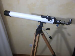 Vintage Pentax Astronomical Telescope, Boxed with Tripod & Mount, Refractor