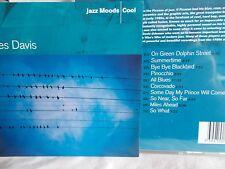 MILES DAVIS - JAZZ MOODS : COOL - OZ 10 TRK CD