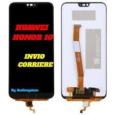 DISPLAY LCD+TOUCH SCREEN HUAWEI per HONOR 10 COL-L29 COL-L09 AL00 NERO VETRO