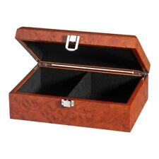 Chess Pieces Box Exclusive - Root Wood Design - 2 Fächer