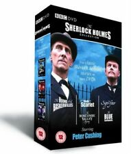 SHERLOCK HOLMES 1968 - PETER CUSHING BBC TV Series Collection - R2 DVD not US