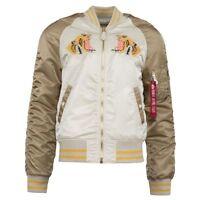 Men's Brand New Tiger Souvenir Reversible Athletic Fashion Jacket [MJS47040C1]