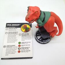 Heroclix Superior Foes of Spider-Man set Devil Dinosaur #054 Super Rare figure!