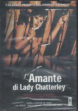 Dvd **L'AMANTE DI LADY CHATTERLEY** con Malù nuovo 1990