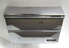 Chrome Kitchen Dispenser Wax Paper Towel Foil Commercial Mid Century Modern