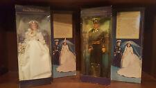 Princess Diana and Prince Charles Goldberger Royal Wedding Dolls (1982)