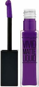 Maybelline Colorsensational Vivid Matte Liquid | Vivid Violet