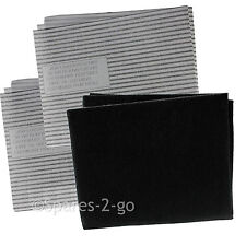 Cooker Hood Filters Kit for CDA Extractor Fan Vent Carbon Grease Filter