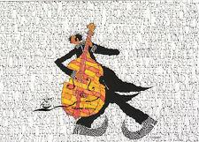 Kunstkarte: Michael Ferner - Kontrabassisten sind bessere Menschen