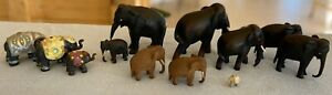 Elephant Collection, Thai, African and Indian