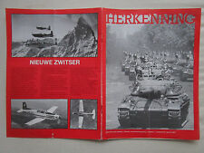 1/84 REVUE HOLLANDAISE HERKENNING MARINE URSS PILATUS PC-7 AERO VODOCHODY BOEING