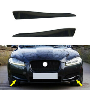 2x Front Bumper Side Grill Grille Insert Cover Trim fit for Jaguar XF 2012-2015
