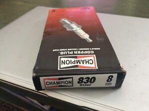8 - Champion (830) RL86C Racing Spark Plug - Set of 8