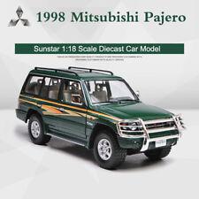 Sun Star 1:18 1998 Mitsubishi Pajero SUV Metal Die Cast Car Model Collectibles