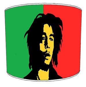 Bob Marley Reggae Lampshades To Match Bedding Duvets Curtains Cushion Covers