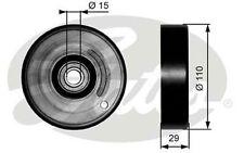 GATES Polea tensora, correa trapezoidal con dentado interior VOLKSWAGEN T36160