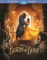 BEAUTY AND THE BEAST BLU-RAY + DVD + Digital HD  2017 BRAND NEW FAST SHIPPING