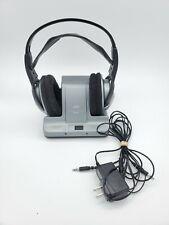 JVC FM 900MHz Cordless Headphones Model HA-W600RF with Base/Charging Station
