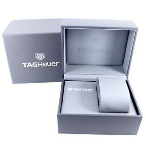 GENUINE TAG HEUER WATCH BOX BLACK GREY
