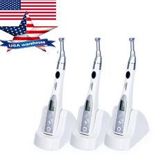 3 X Dental Cordless Mini Endo Motor 16:1 Reduction Contra Angle Handpiece Lab