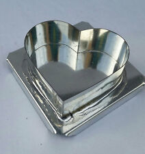 HEART FLOATING CANDLE MOLD METAL