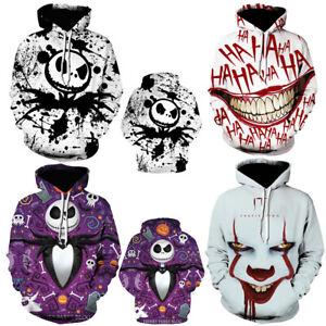The Nightmare Before Holloween hoodie Hoodie pullover Sweatshirt 3D Printed coat