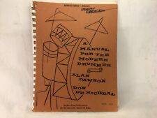 Vintage Manual for the Modern Drummer 1962 Original Book by Dawson and DeMicheal